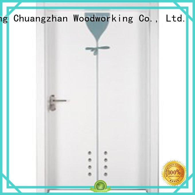 eco-friendly bathroom doors for sale Supply for indoor