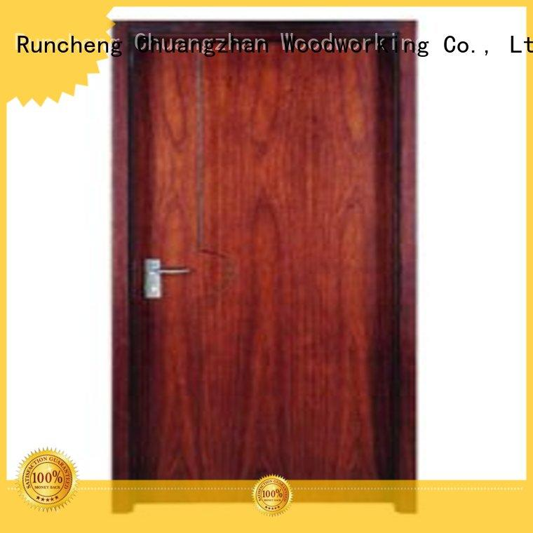 Runcheng Woodworking Brand durable hot selling flush wooden flush door manufacture