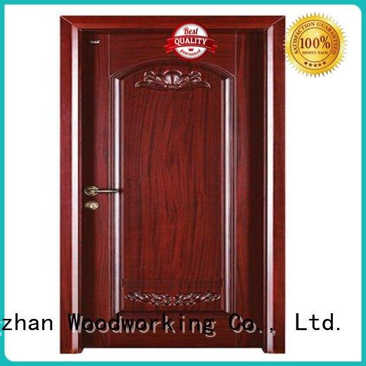 ODM interior wooden door with solid wood high-quality manufacturer for hotels
