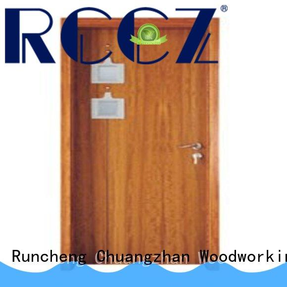 Runcheng Chuangzhan high-grade white glazed interior doors company for homes