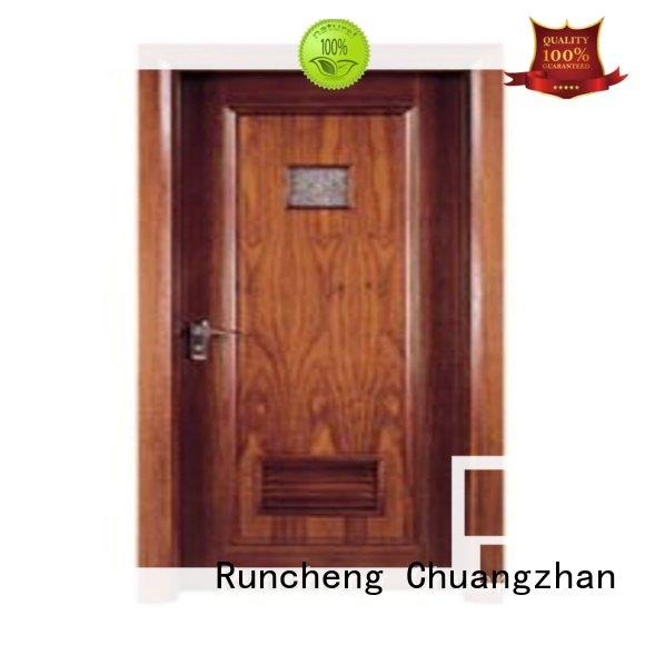 Runcheng Chuangzhan design flush doors with solid wood supplier for offices