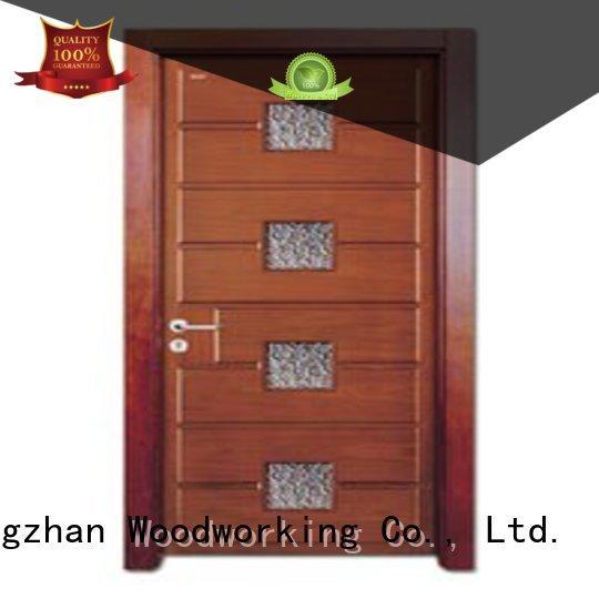 durable                                      Custom durable wooden double glazed doors glazed Runcheng Woodworking glazed