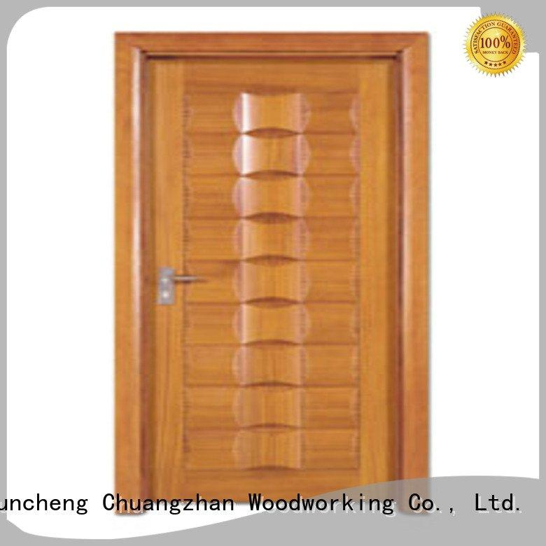 bedroom door door door Runcheng Woodworking bedroom design