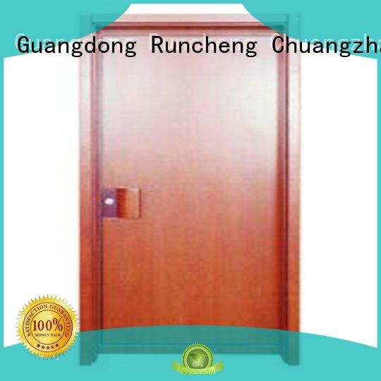 plywood flush internal doors durable flush Warranty Runcheng Chuangzhan