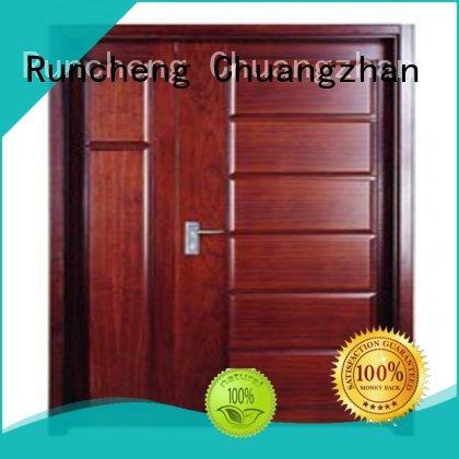 modern wooden flush door price list design supplier for indoor