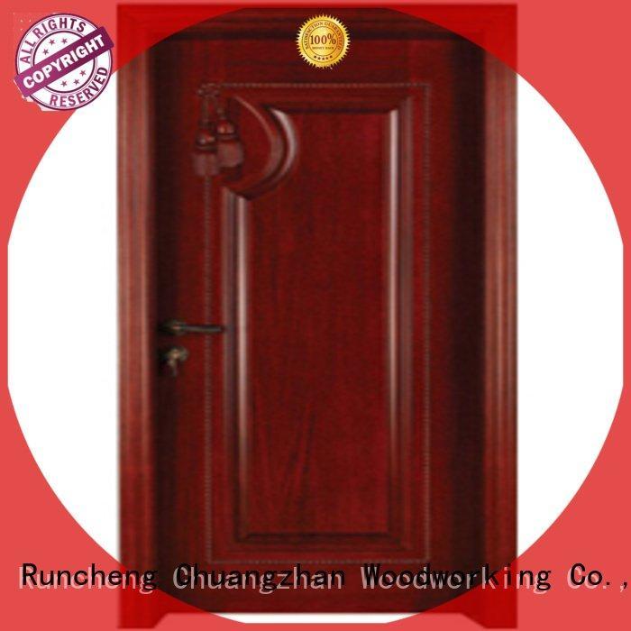 solid bedroom bedroom door designs in wood Runcheng Woodworking