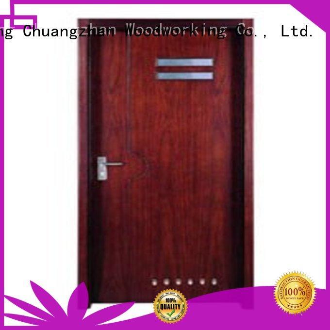 Runcheng Chuangzhan design hardwood flush door manufacturer for homes
