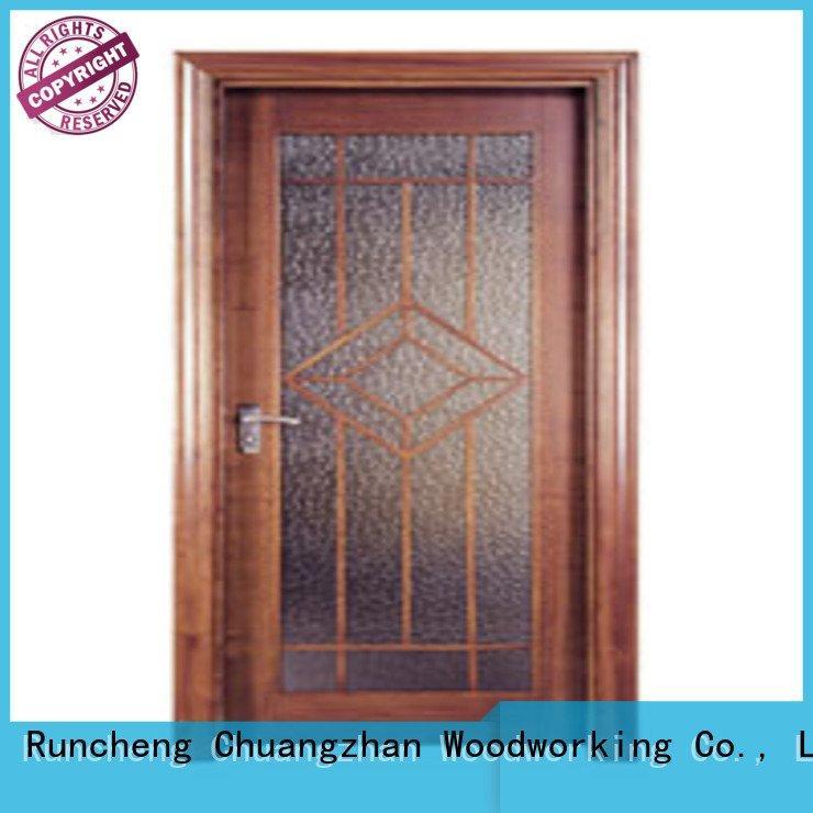 Runcheng Woodworking pp003t pp007t pp005 flush mdf interior wooden door pp0142
