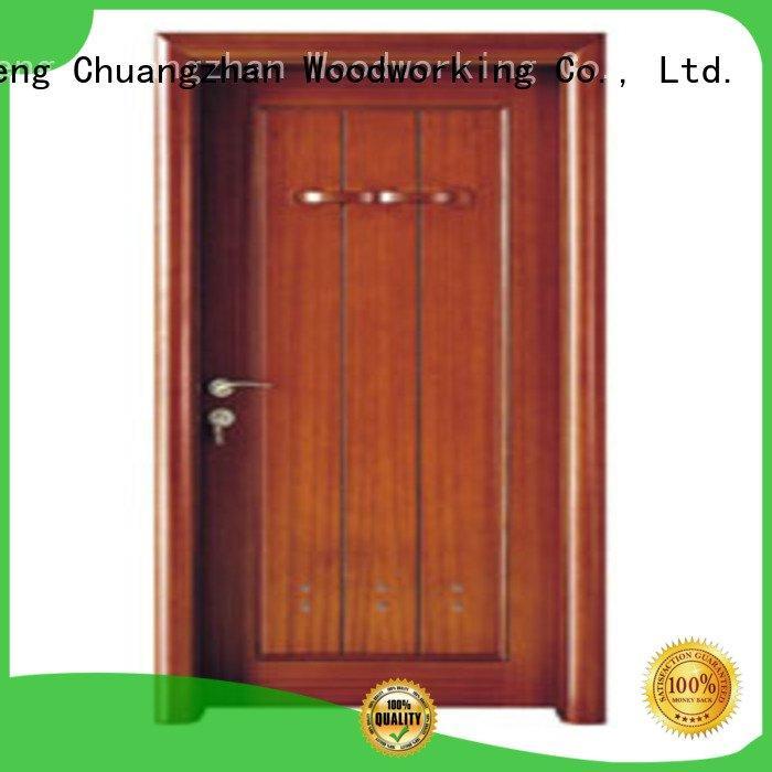 Runcheng Woodworking door solid wood bathroom doors bathroom bathroom
