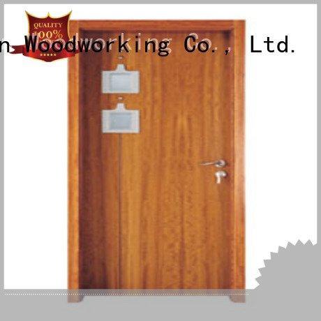 OEM wooden double glazed doors x0184 x0223 wooden glazed front doors