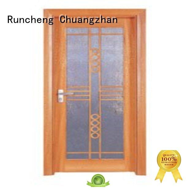 durability wooden double glazed doors durability series for hotels