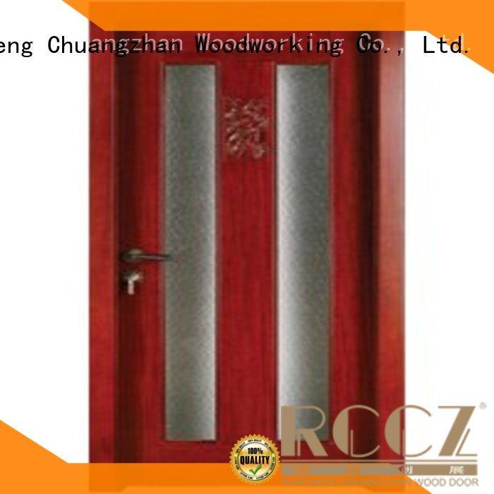 high-grade wooden glazed internal doors door factory for villas