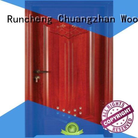 bathroom door pvc bathroom wooden door Runcheng Woodworking