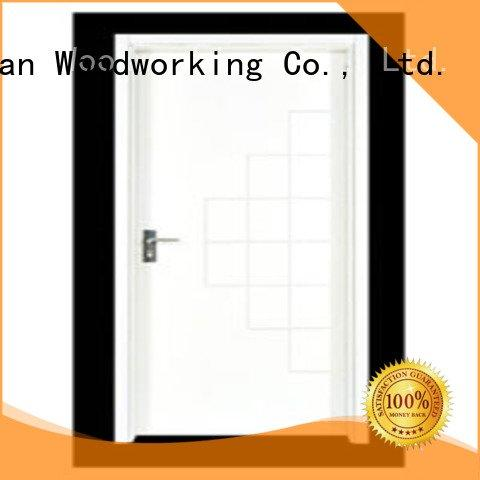 Runcheng Woodworking flush door door flush mdf interior wooden door door