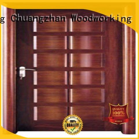 Runcheng Chuangzhan door metal and wood doors supplier for homes