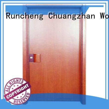 Hot flush mdf interior wooden door flush wooden flush door door Runcheng Woodworking door flush