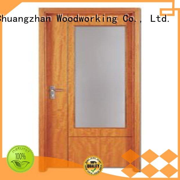 Wholesale hot selling wooden flush door Runcheng Woodworking Brand durable                                         