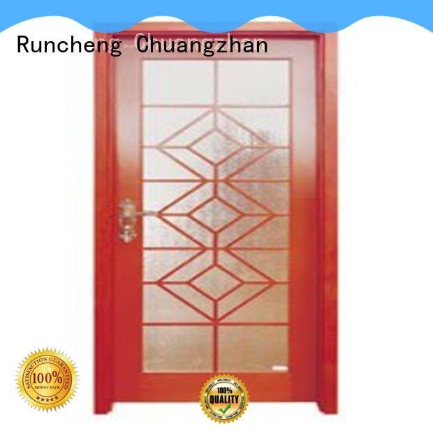 Runcheng Chuangzhan internal glazed doors Suppliers for villas