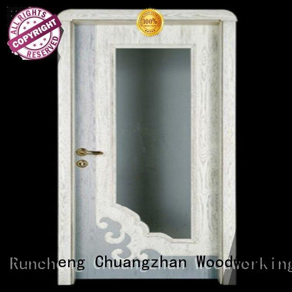 bedroom door Runcheng Woodworking Brand internal double doors factory