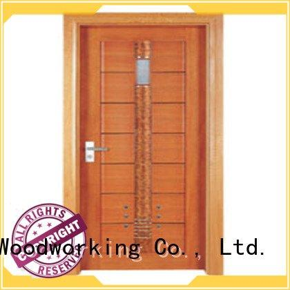 x0272 x0262 d0072 Runcheng Woodworking solid wood bathroom doors
