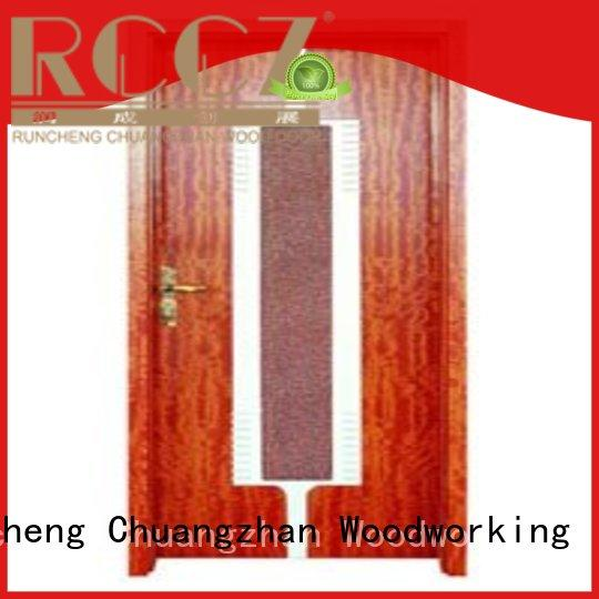 Runcheng Chuangzhan eco-friendly solid bedroom doors for business for indoor