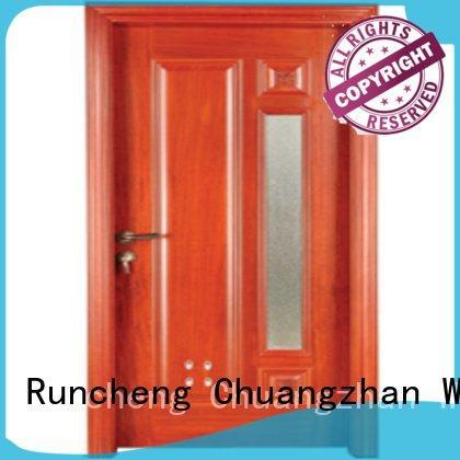 Runcheng Woodworking bathroom s0082 s0072 pvc bathroom wooden door door