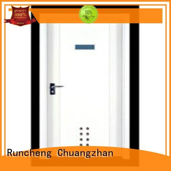 Runcheng Chuangzhan high-quality hardwood flush door manufacturer for hotels