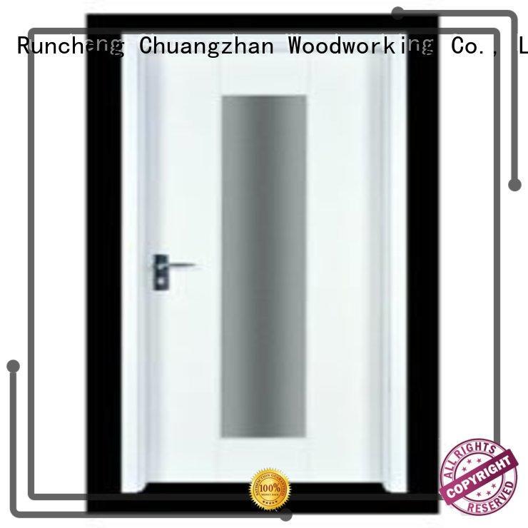 flush mdf interior wooden door hot selling wooden flush door Runcheng Woodworking Brand