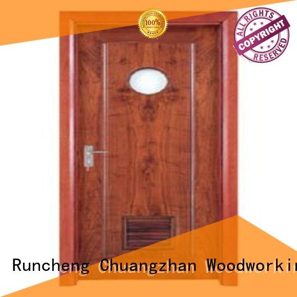 Quality Runcheng Woodworking Brand modern bathroom door wholesale bathroom