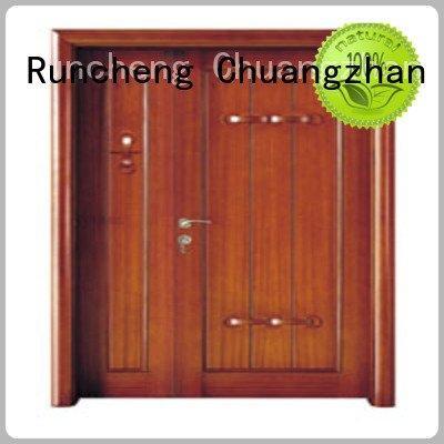 Runcheng Woodworking d0065 x0111 interior double doors x0261 x0131