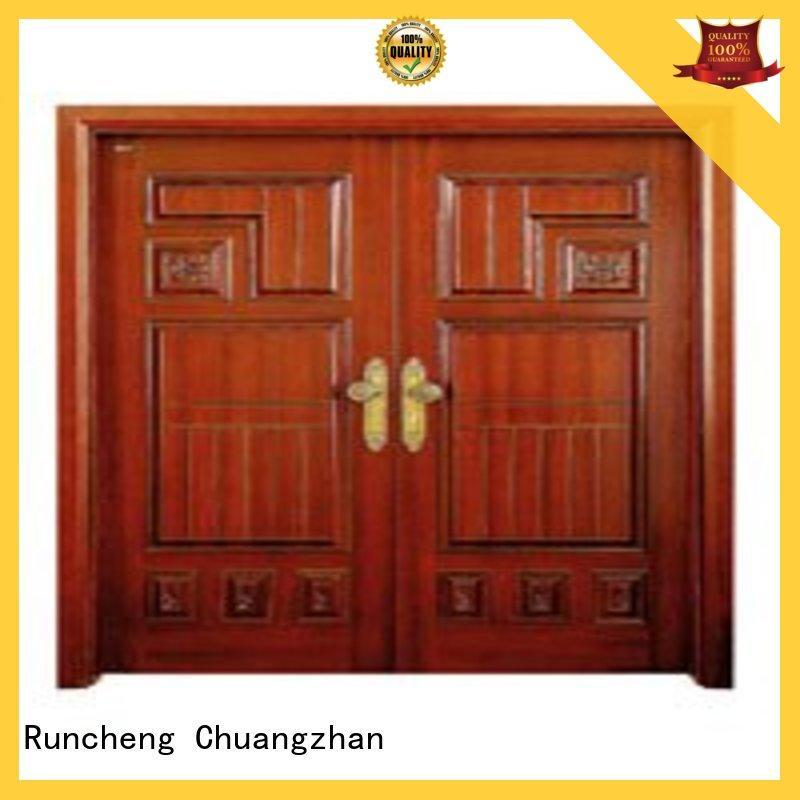 Runcheng Chuangzhan high-grade double door manufacturers for villas