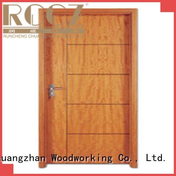 flush flush mdf interior wooden door door flush Runcheng Woodworking Brand door