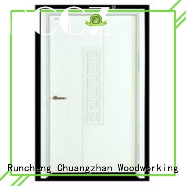 Runcheng Chuangzhan eco-friendly hardwood flush door wholesale for villas