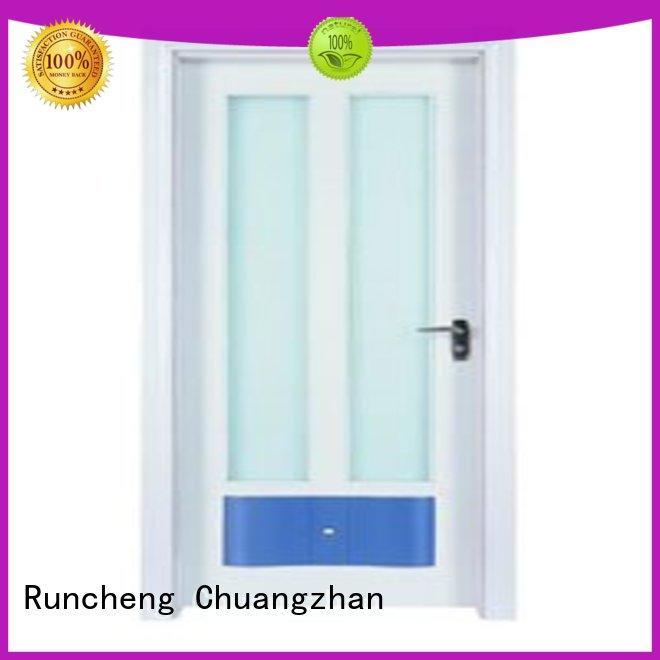 Runcheng Chuangzhan consummate wooden double glazed doors company for homes