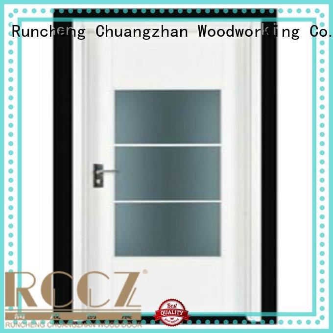 durable hot selling flush flush mdf interior wooden door Runcheng Woodworking Brand