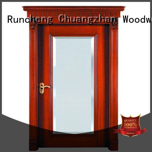 Hot internal veneer doors bathroom wood veneer door kitchen Runcheng Woodworking
