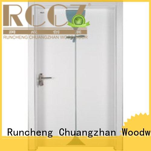 pure wood solid core bedroom door solid bedroom Runcheng Woodworking Brand