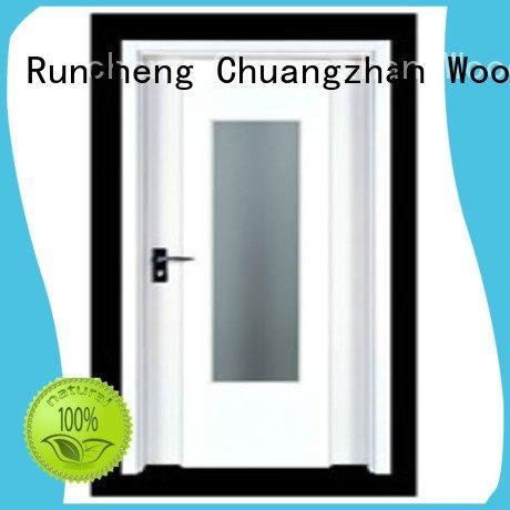 Runcheng Woodworking wooden flush door pp012 pp004 pp0011 pp0143