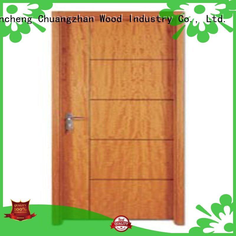 Wholesale durable plywood flush internal doors Runcheng Chuangzhan Brand