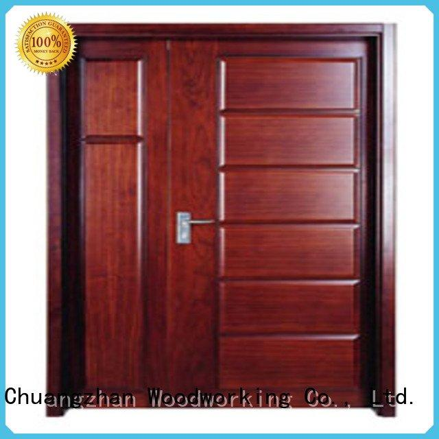 Quality flush mdf interior wooden door Runcheng Woodworking Brand flush wooden flush door