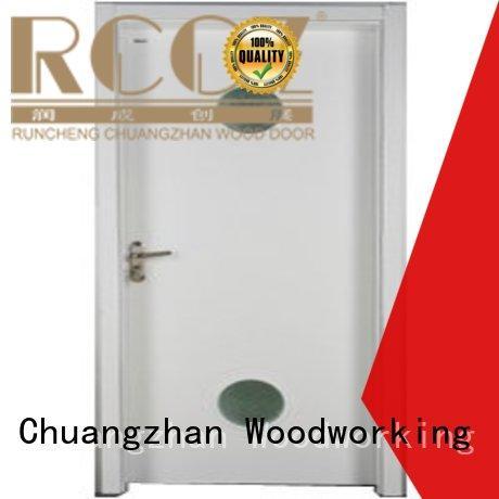 Runcheng Chuangzhan durability double glazed doors Supply for indoor