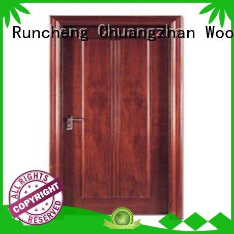 eco-friendly solid bedroom doors door supplier for villas