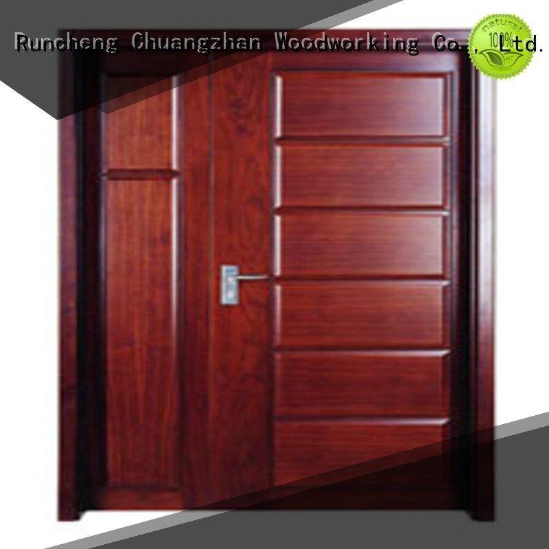 Custom wooden flush door pp0073 pp0142 pp0092 Runcheng Woodworking