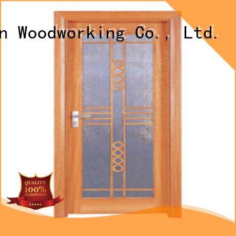 door glazed Runcheng Woodworking wooden glazed front doors glazed door door door