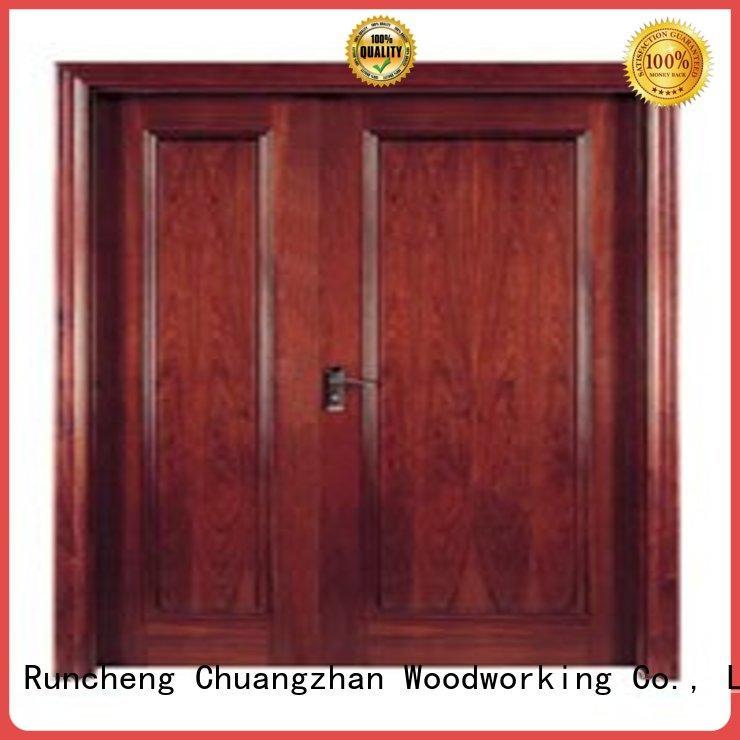 plywood flush internal doors hot selling Runcheng Woodworking Brand wooden flush door