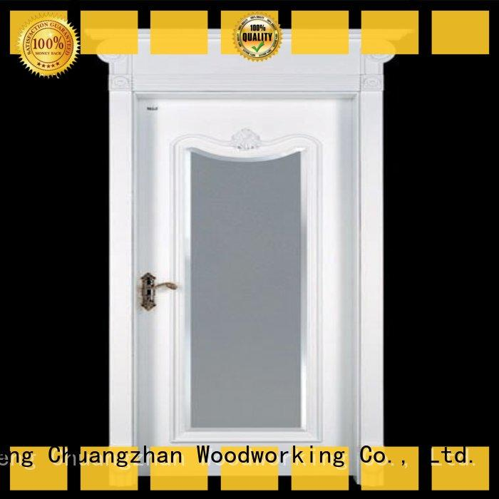Runcheng Chuangzhan attractive mdf composite wooden door supplier for indoor