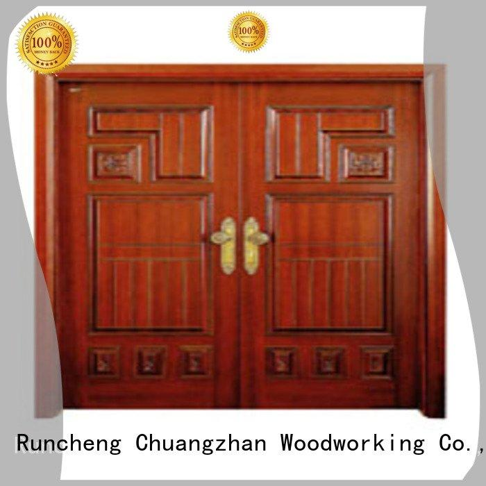 double door interior double doors Runcheng Woodworking double