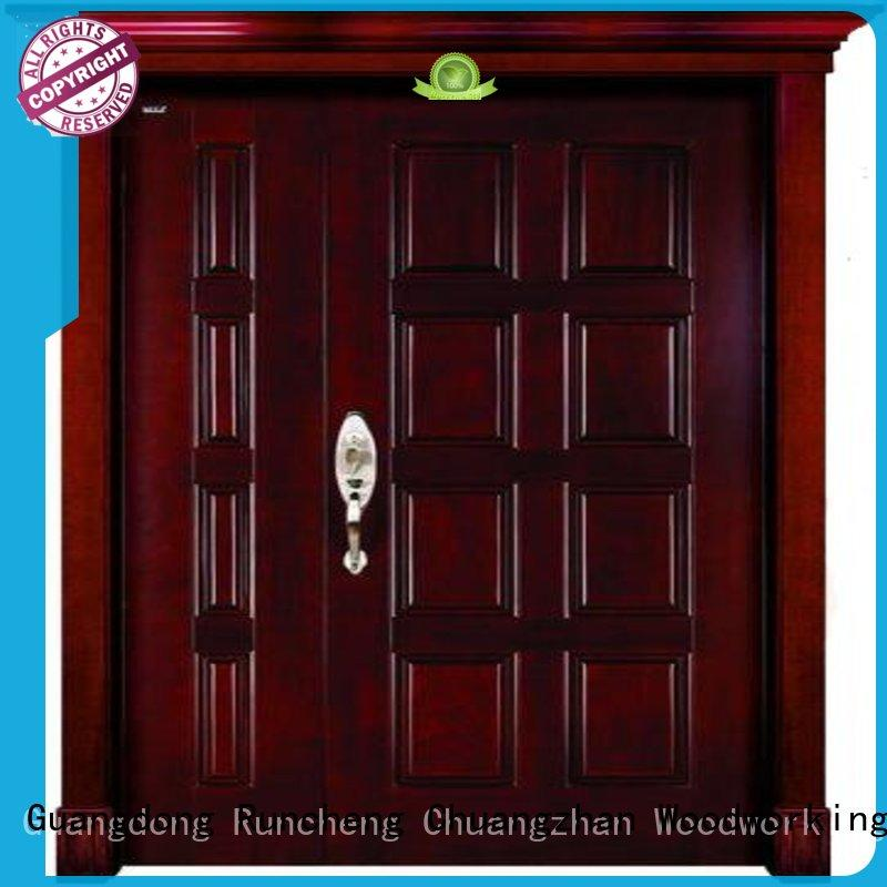 eco-friendly wood double entry doors eco-friendly company for homes