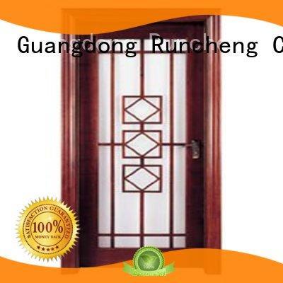 Runcheng Chuangzhan high-grade interior glazed doors Supply for villas