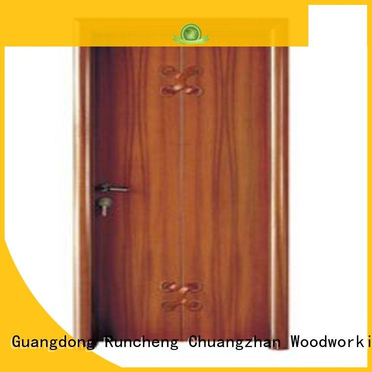 Runcheng Chuangzhan eco-friendly steel bedroom door manufacturer for homes